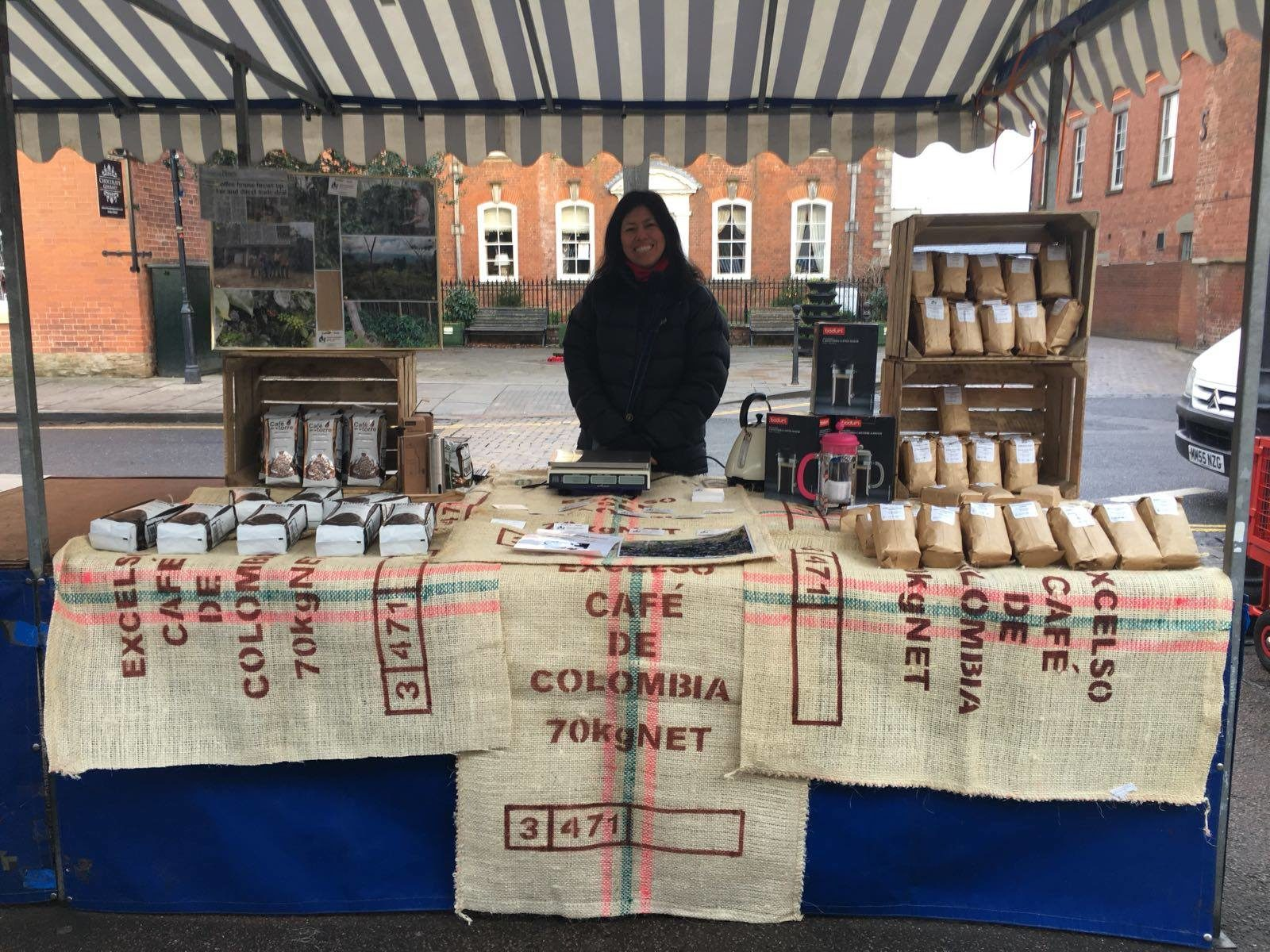 Coffee We Love will be at Ludlow Street Market on Friday the 30th of March
